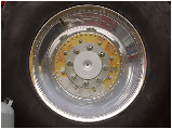 Car Wheel With Steel Rim